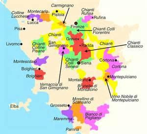 Chianti Italy Map by Chianti Classico Wine Chianti Classico The Area Visit