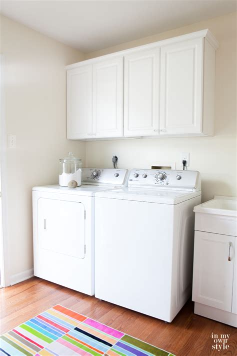 How To Install Cabinets In Laundry Room Mudroom Update With True Value In My Own Style