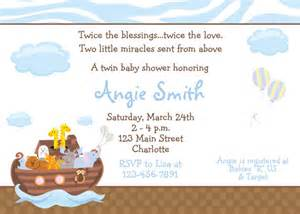 noah s ark baby shower invitation baby by thebutterflypress