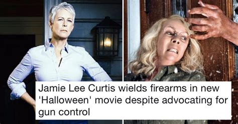 jamie lee curtis fox news fox news took aim at jamie lee curtis doing this and these