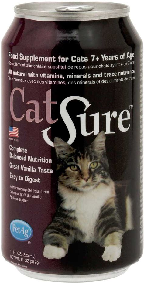 cat  liquid nutrition pet ag supplements senior