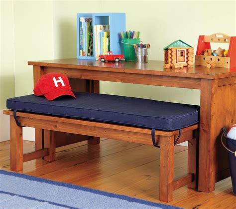Cameron Table Bench Traditional Kids Tables And Chairs By Pottery Barn Kids