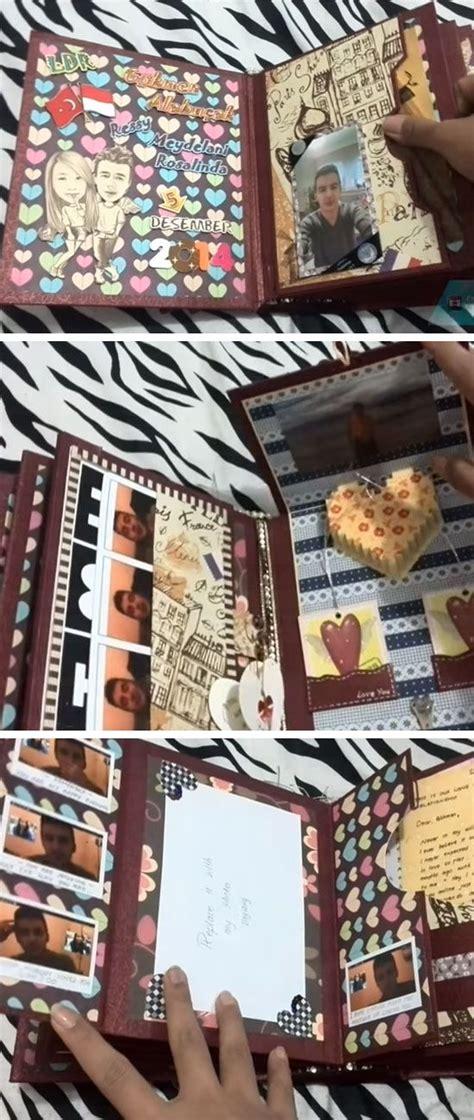 Handmade Scrapbook For Boyfriend - best 20 scrap book for boyfriend ideas on diy