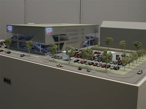 Audi Zentrum Frankfurt by Details