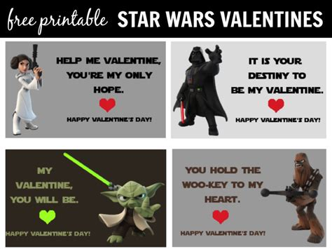 valentines day wars wars cards printable it is a keeper