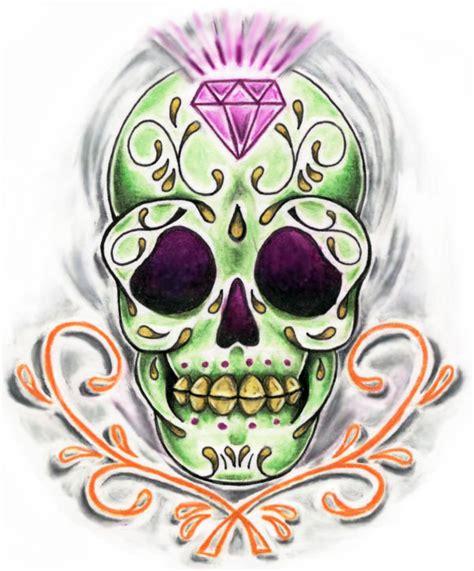 for sugar skull recent obsession sugar skulls fuzzyneonllama