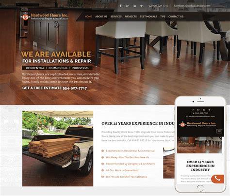 hardwood flooring website design wood flooring website designer