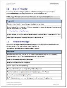 itil deployment plan template deployment plan template 28 page ms word sle