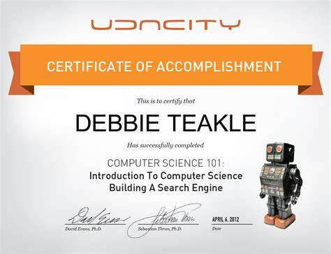 design certificate stanford udacity cs101 stanford university cs101 online courses