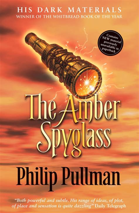 the amber spyglass his this is my face philip pullman his dark materials trilogy