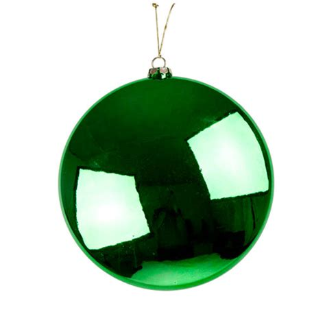 green disc hanging decoration 20cm christmas time uk