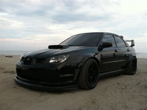 evo eye subaru blacked out 752 awhp tt sti youtube