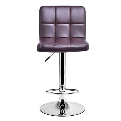 Modern Leather Counter Stools 1 pc modern leather bar stool adjustable hydraulic counter