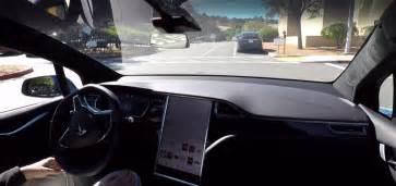 tesla s new fully self driving car navigate around