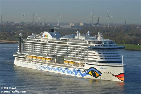 aidaprima schiffsdaten schiffsdetails f 252 r aidaprima passengers ship imo