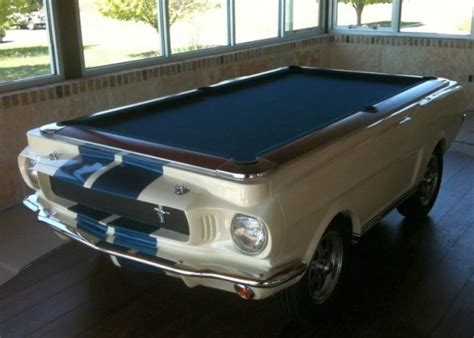 car pool tables camaro mustang corvette shelby masm us car billardtische mesa de billar con la base de
