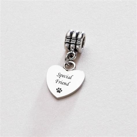 special engraving special friend on bail charming engraving
