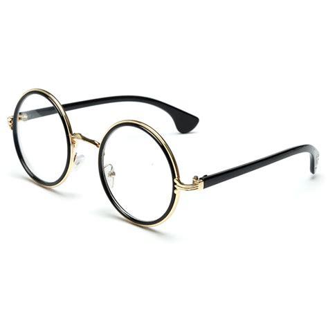 Frame Kacamata Wanita 1 frame kacamata wanita retro black gold jakartanotebook