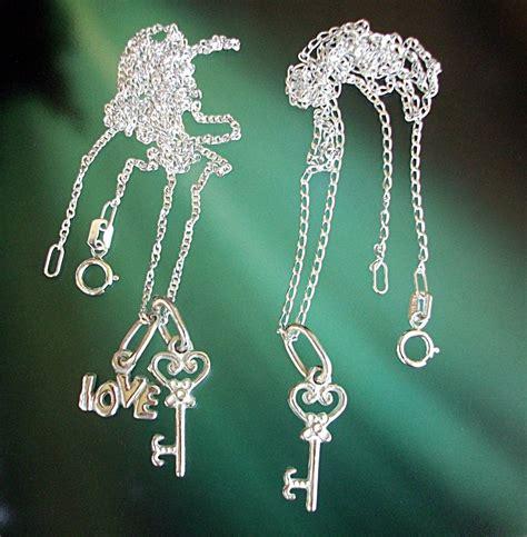 buscar cadenas de amor pareja tu y yo 2 cadenas 3 dijes llaves amor love plata