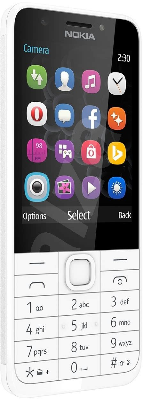 Nokia 230 D Silver nokia 230 light silver mobiln 237 telefon alza cz