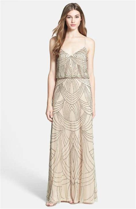 beaded chiffon blouson dress papell beaded chiffon blouson dress 2352622