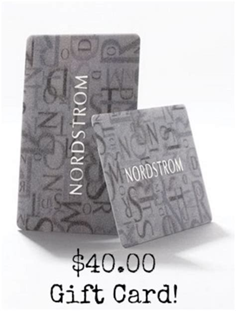 Nordstrom Gift Cards At Cvs - free 40 00 nordstrom gift card with donation