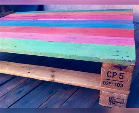 pallet rainbow coffee table pallet furniture plans