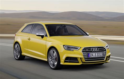 Audi S3 2016 by 2016 Audi A3 S3 Facelift Revealed Increased Tech S3