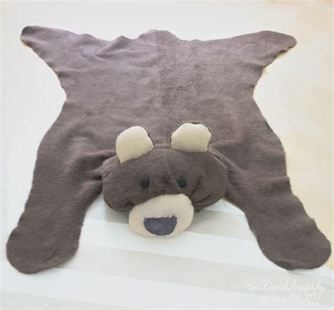 stuffed animal rug we lived happily after make your own rug for 6