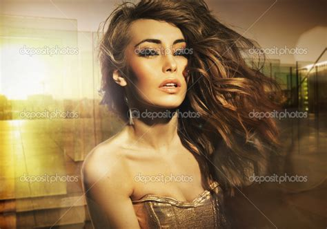 Is Stunning by Stunning Posing In The Sun Stock Photo