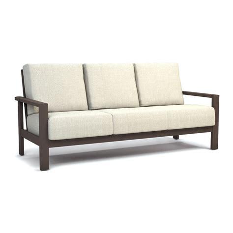 hc sofa homecrest elements cushion patio sofa fire pit set hc