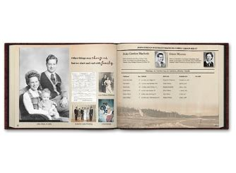 layout for genealogy book family tree