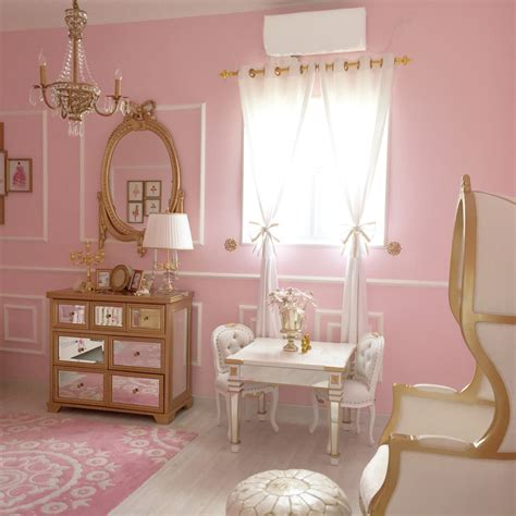 Girls French Bedroom Pretty In Pink 55 Pink Nurseries Project Nursery