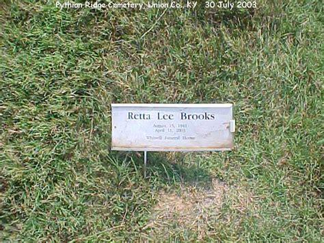 Truman 1904 Brown pythian ridge cemetery union co ky