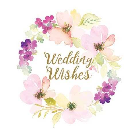 Wedding Wishes   Free Wedding Congratulations Card