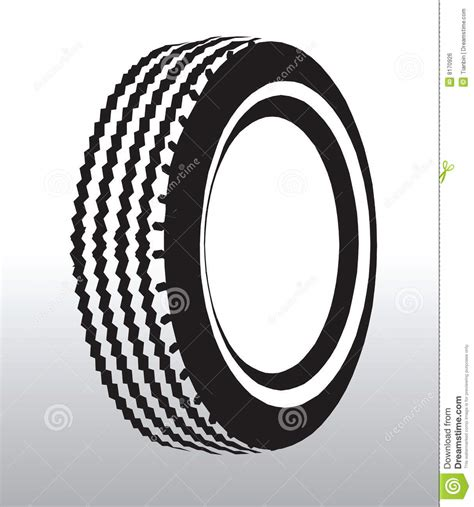 tyre drawing stock vector image  illustration tyre