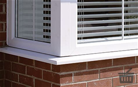 Upvc Bay Window Sill Upvc Window Sills Trim Finishing Eurocell