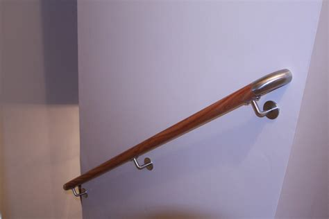 Wall Banister Rail by Rails Loudoun Stairs