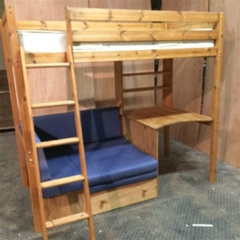 Bunk Bed With Sofa And Desk High Sleeper Bunk Bed With Sofa Bed And Desk For Sale In Santry Dublin From Daggerz99