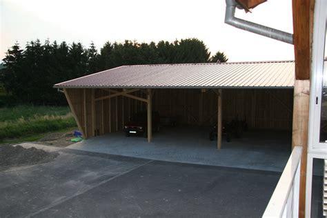 Construire Un Hangar Agricole by Hangar Agricole Avec Ferme Abt Construction Bois