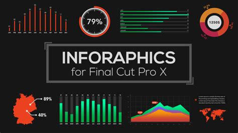 apple motion templates for sale infographics builder for cut pro x