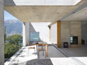 Concrete House Designs by Wespi De Meuron Architekten Open Concrete Building Part