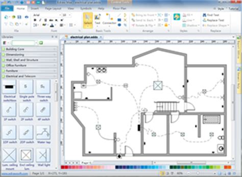 electrical floor plan software electrical and telecom plan floor plan solutions