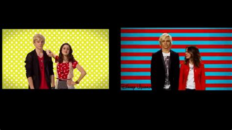 theme song austin and ally austin ally theme song comparison youtube
