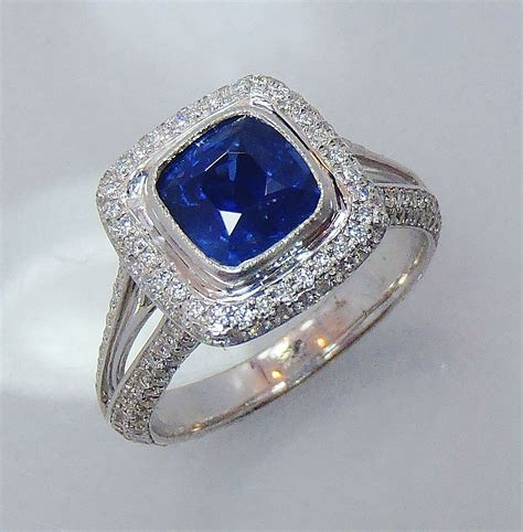 martini sapphire vintage cocktail rings 4 25ct 4 50ct sapphire gold