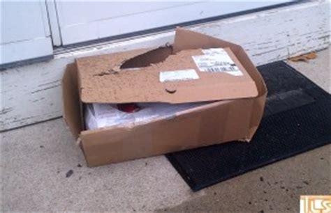 ups lost package front door the lakewood scoop 187 photo resident believes thief tore