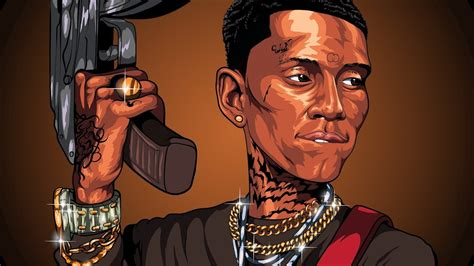 soulja boy cartoon speedart adobe illustrator youtube