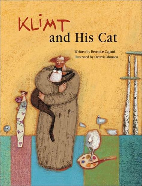 libro klimt poster set klimt and his cat by berenice capatti octavia monaco hardcover barnes noble 174