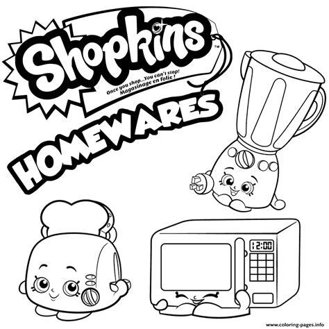 coloring pages of shopkins season 2 homewares collection shopkins season 2 coloring pages