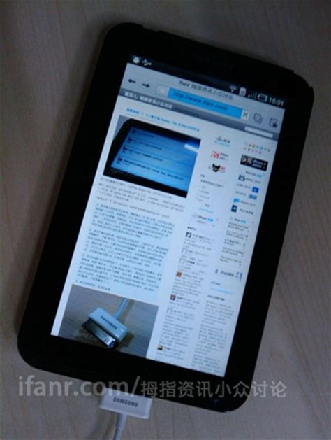 Samsung Galaxy Tab 1 Gt P1000 samsung galaxy tab gt p1000 in live photos